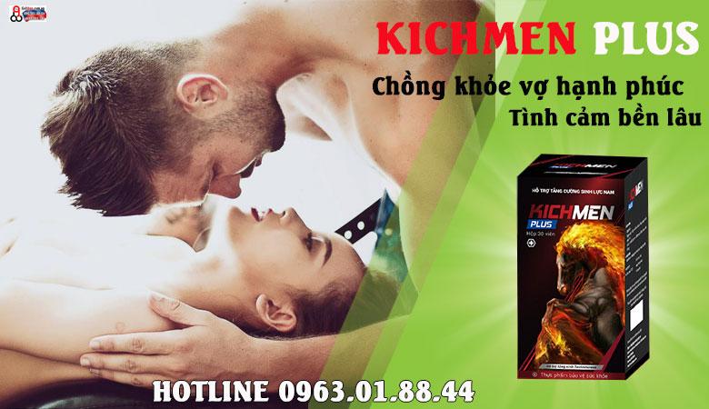 kichmen plus có tác dụng phụ không