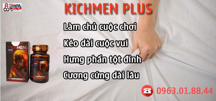 kichmen plus có hiệu quả không