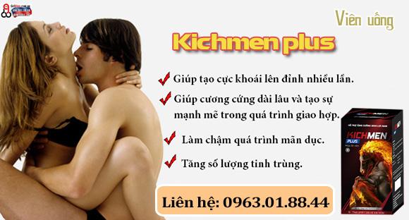 sử dụng kichmen plus có ảnh hưởng gì không