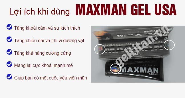 gel maxman usa 2018 tăng kích thước cậu nhỏ
